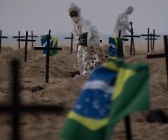 Coronavirus, record di nuovi contagi in Brasile: 67.860 in 24 ore