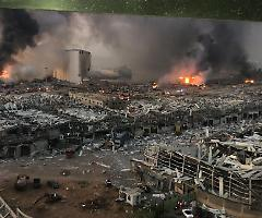 A Beirut 100 morti e 100 dispersi. Non è in pericolo di vita il militare italiano ferito, originario della Puglia