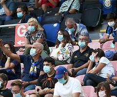 Coronavirus, il Cts: «Non ci sono le condizioni per aumentare il pubblico negli stadi»