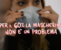 Per il 60% degli adolescenti la mascherina non è un  problema: hanno imparato a guardarsi negli occhi