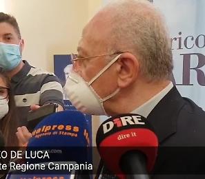 """Vaccini e Covid, De Luca: """"Dallo Stato italiano solo confusione. Non ci ho capito nulla"""""""