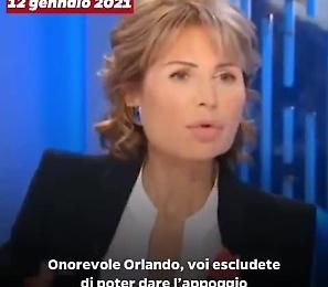 Quando Orlando giurava: «Escluso l'appoggio a un governo, anche di Draghi, con Salvini». Oggi fa il ministro con Salvini